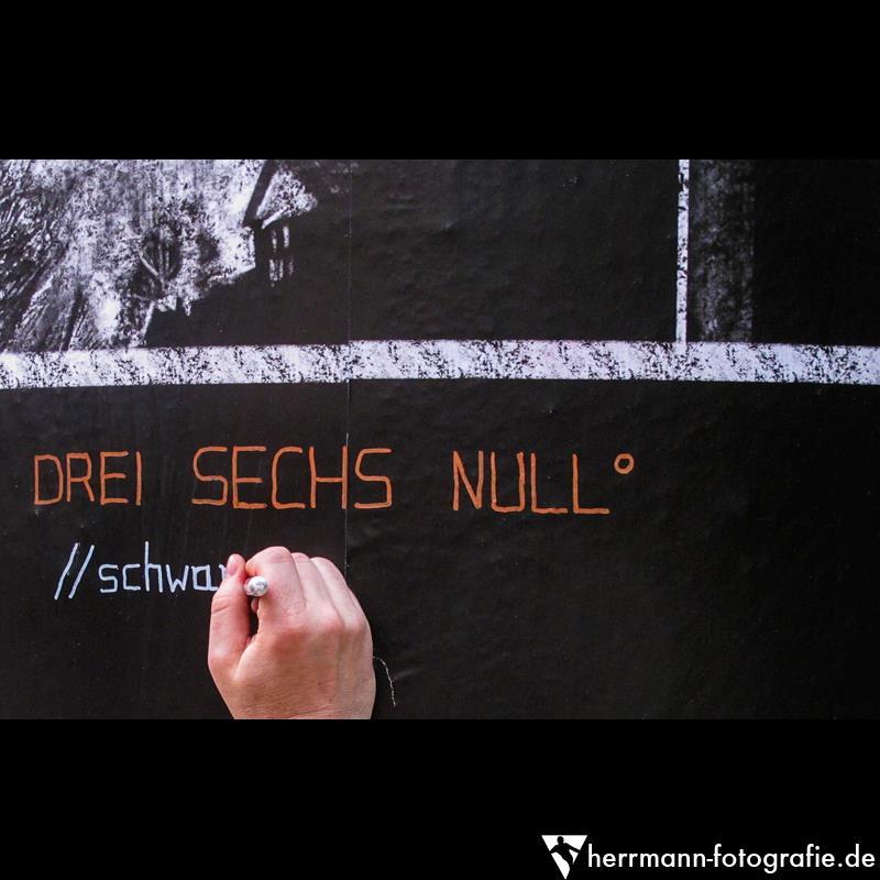 DREI SECHS NULL°. Daniel Hartlaub. Foto: Hans-Jürgen Herrmann